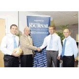 Photo: North Devon Journal announces sponsorship deal with the North Devon Football League