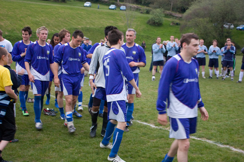 Braunton Reserves Winners Combe Martin Cup 2010