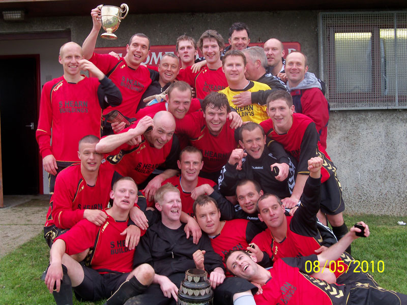 Shamwickshire Rovers - Premier Division Champions 2010